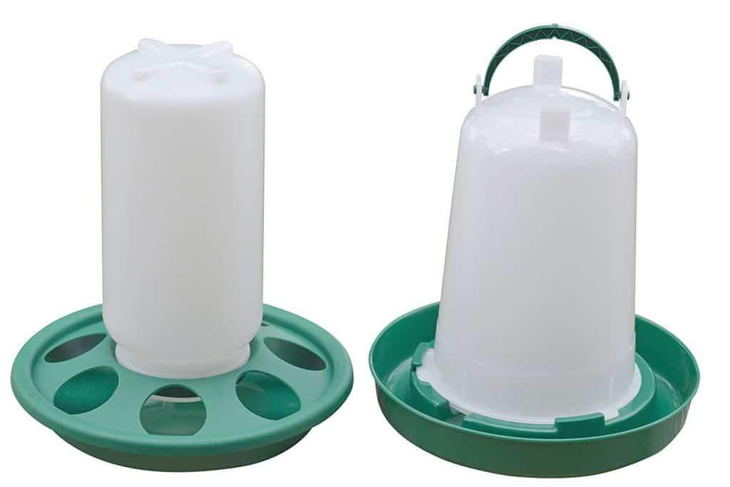 RentACoop Chick Feeder Waterer Kit