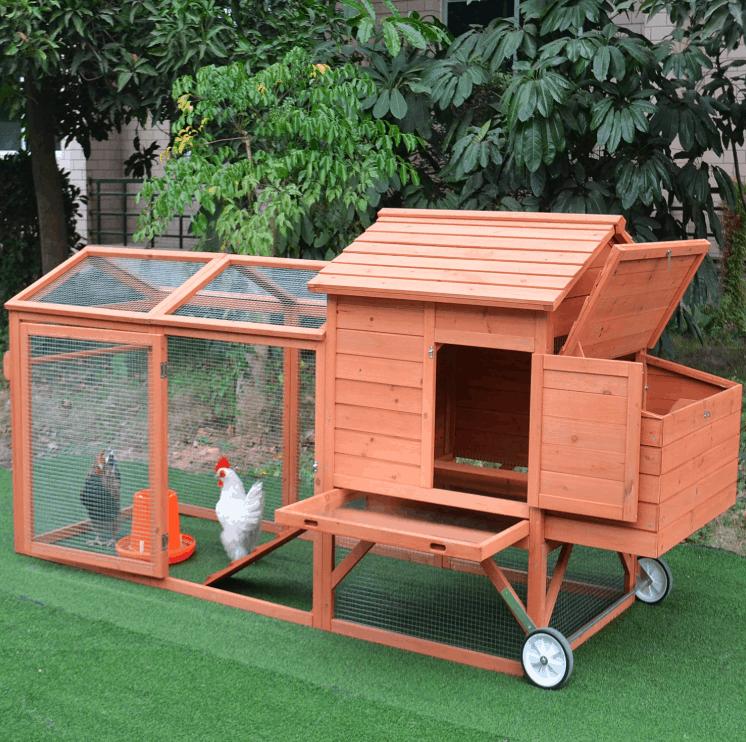 Wheeled Chicken Coop