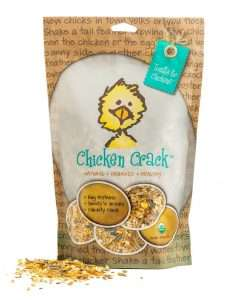 Treats For Chickens Certified Organic Chicken Crack Treat