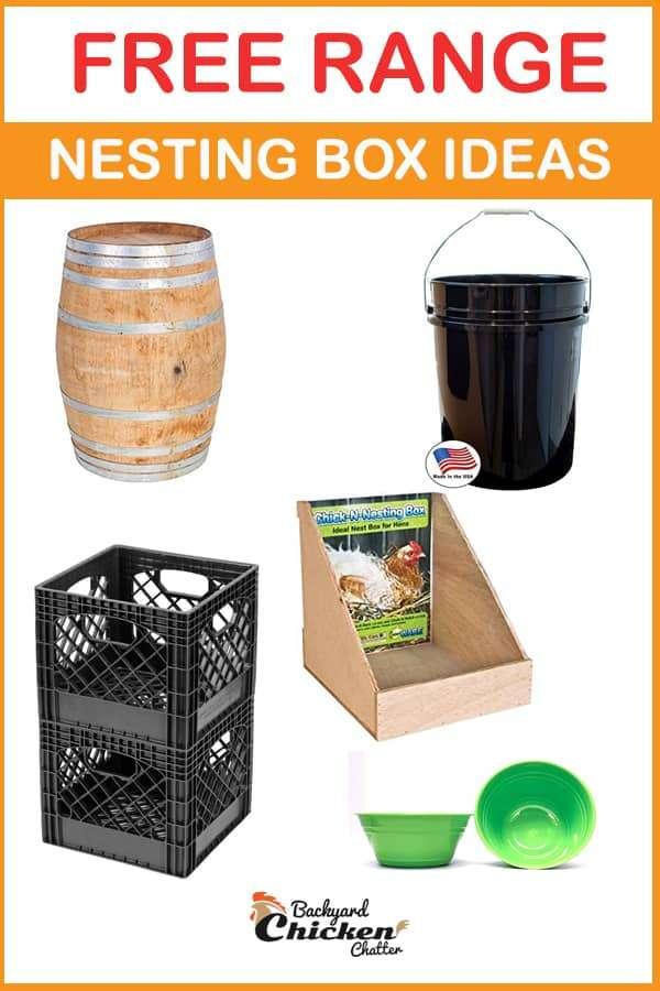 Ideas for free range nest boxes