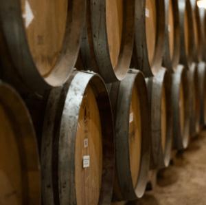 Wine Barrels for Free Range Nests